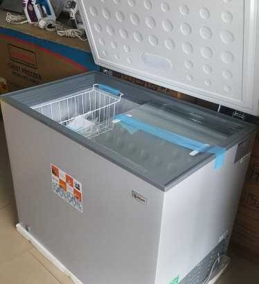 Pearl 251 Litres Chest Freezer (Glass Top)
