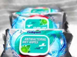 Antibacterial wet wipes /Ultra Compact