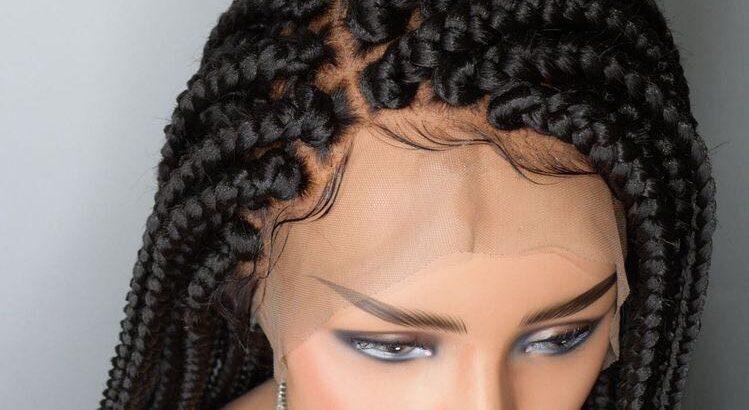 Box braids wig cap unit