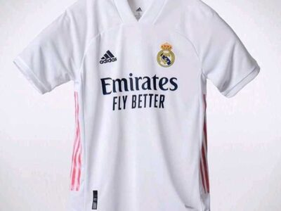 Real Madrid fc 2020/2021 home and away Jersey
