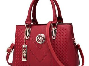 Multi Compartment Ladies' Top Handle Bag