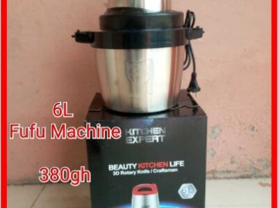 6L Fufu blender or machine available