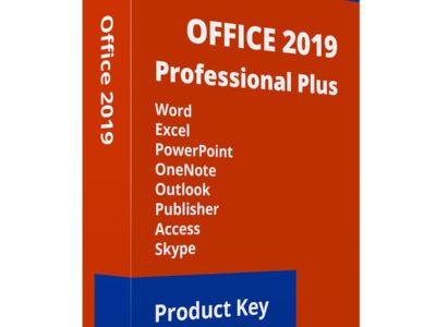 Microsoft Office 2019 professionals plus 1pc licenses