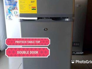 Protech 90L Double Door Table Top Refrigerator