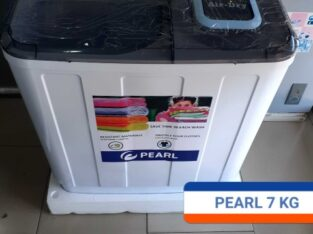 Pearl 7kg Twin Tub Semi Auto Washing Machine-Pwm-70tt
