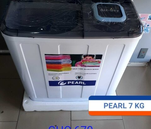 Pearl 7kg Twin Tub Semi Auto Washing Machine-Pwm-70tt