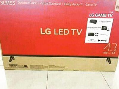 LG 43 LED DIGITAL SATELLITE TV