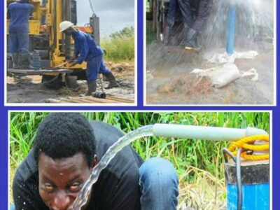 Borehole drilling and installation