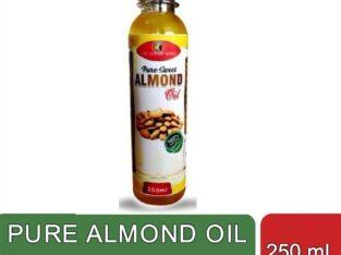 Pure Sweet Almond Oil (250 ml)