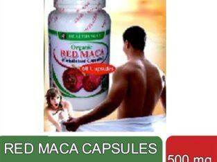 Organic Red Maca Capsules (500 mg)