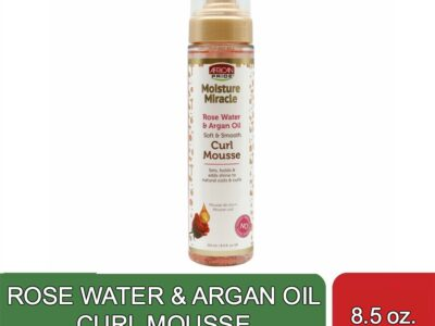ROSE WATER & ARGAN OIL CURL MOUSSE (8.5 oz)