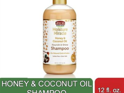 HONEY & COCONUT OIL SHAMPOO (12 fl oz)