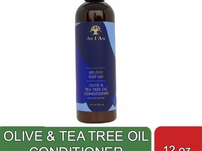 OLIVE & TEA TREE OIL CONDITIONER (12 oz)
