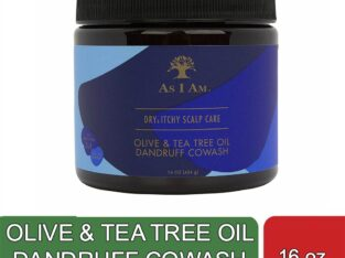 OLIVE & TEA TREE OIL DANDRUFF COWASH (16 oz)