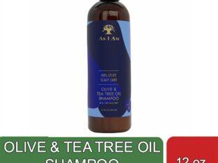 OLIVE & TEA TREE OIL SHAMPOO (12 oz)