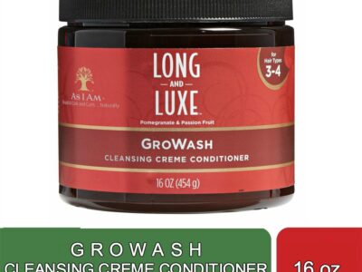 GROWASH CLEANSING CREME CONDITIONER (16 OZ)