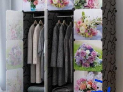 12cubes plastic wardrobe with shoe racks
