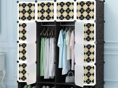 20cubes plastic wardrobe with shoe racks