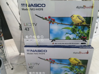 "ELEGANT NASCO 43"" Fully HD DIGITAL & SATELLITE TV"