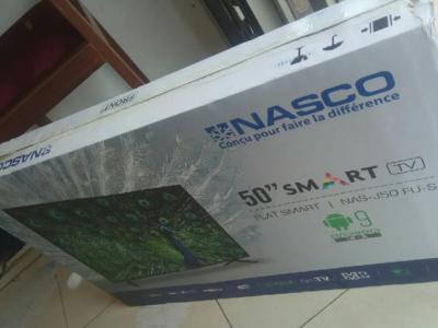 Nasco 50′Digital Satellite Uhd Android Smart 4k tv