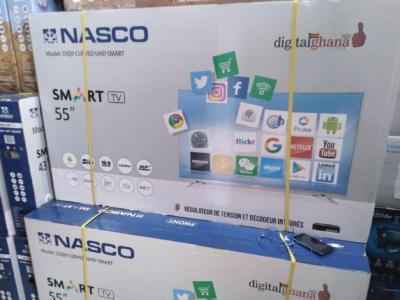 Nasco 55′′ Digital Satellite Uhd Android Smart 4k