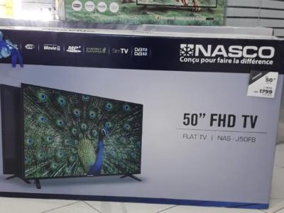 """BRAND NEW NASCO 50""""Fully HD DIGITAL & SATELLITE TV"""