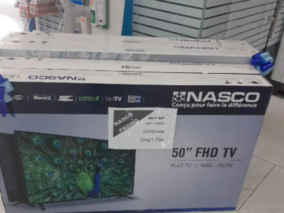 "LATEST NASCO 50"" Fully HD DIGITAL & SATELLITE TV"