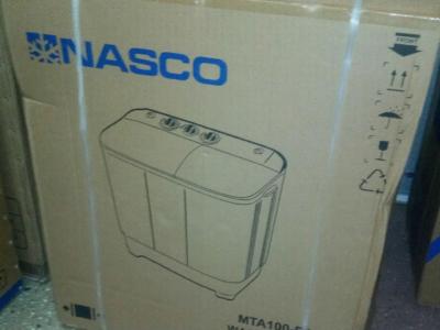 NEW NASCO 10 KG TWIN TUB SEMI AUTO WASHING MACHINE