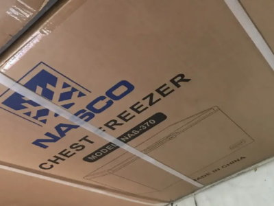 Powerful cooling Nasco 295L Chest Freezer[Nas-370]