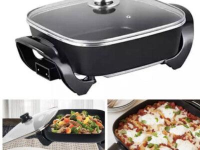 Multi purpose Electric Grill Pan