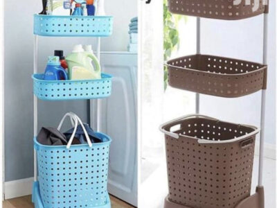 plastic Organizer Laundry Basket