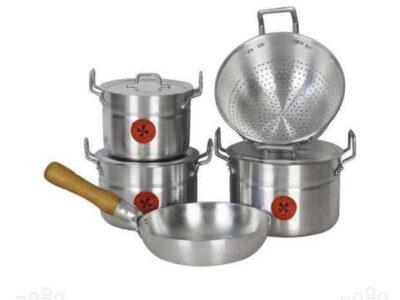 5set Alluminium cooking utensils