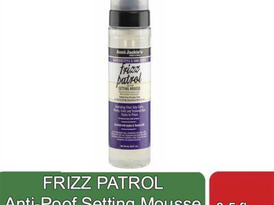 FRIZZ PATROL Anti-Poof Setting Mousse (8.5 fl oz)