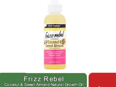 Frizz Rebel Coconut & Sweet Almond Natural Growth