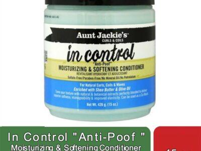 "In Control ""Anti-Poof "" Moisturizing & Softening"