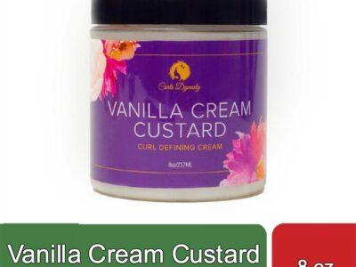 Vanilla Cream Custard (8 oz)