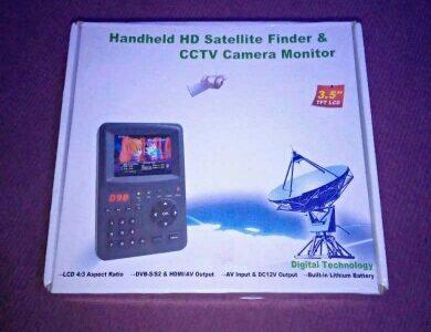 Mpeg4 Digital satellite finder for Sale