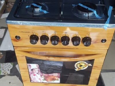 Volcano 50*50 4 Burner Gas Cooker With Oven and Gr