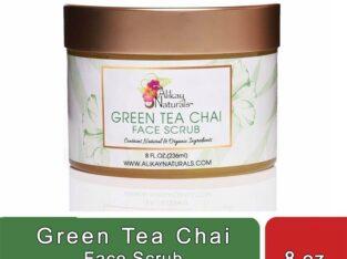Green Tea Chai Face Scrub (8 oz)