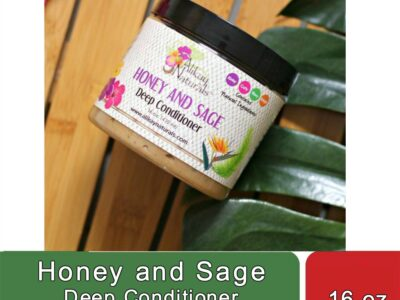 Honey and Sage Deep Conditioner (16 oz)