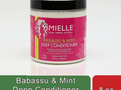 Babassu & Mint Deep Conditioner (8 oz)