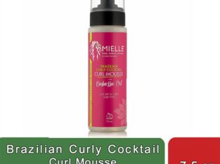 Brazilian Curly Cocktail Curl Mousse