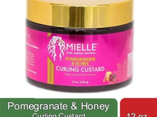 Pomegranate & Honey Curling Custard