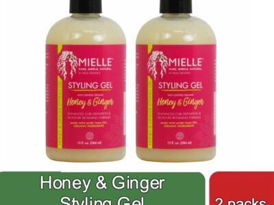 Honey & Ginger Styling Gel (2 packs)
