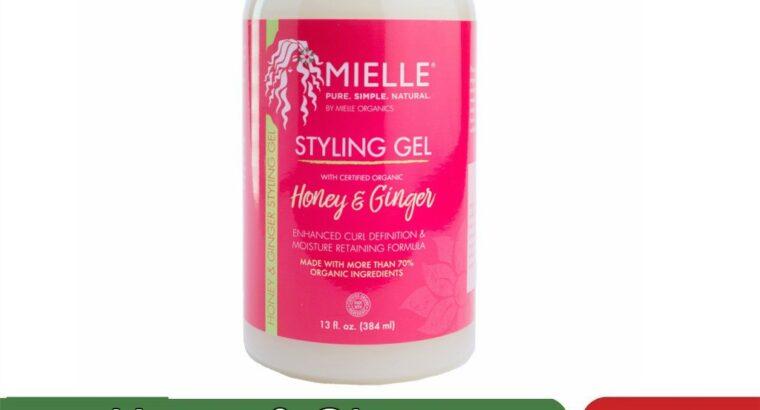 Honey & Ginger Styling Gel (12 oz)