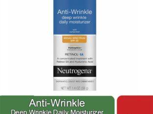 Anti-Wrinkle Deep Wrinkle Daily Moisturizer