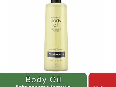 Body Oil light sesame formula