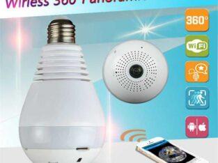 CCTV wifi bulb IP camera