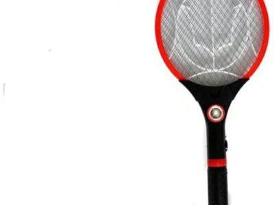 Electronic Rechargeable Mosquito Killer Bat Racket Swatter