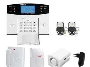 GSM alarm security system
